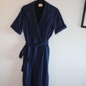Wrap Around Dress with Fabric Belt